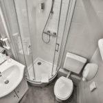 Salle de bain Chambre petite double