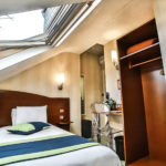 The small attic room