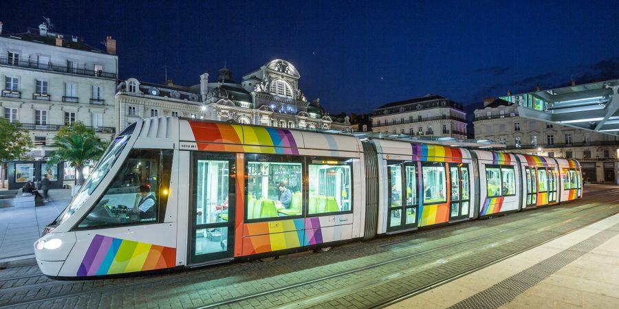 Tramway Place du Ralliement